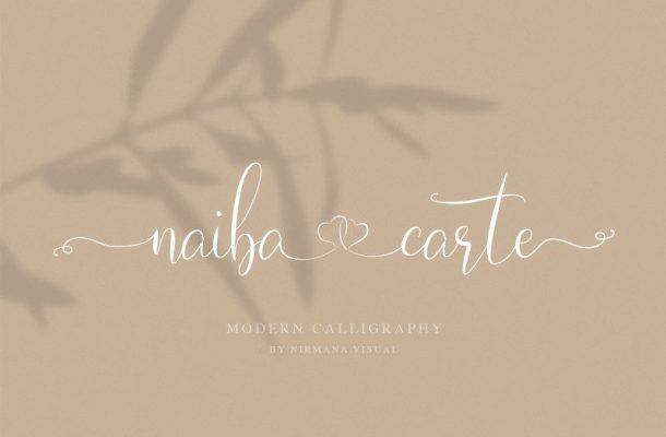 Naibacarte Script Font