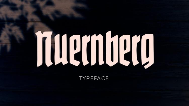 Nuernberg Display Font-1