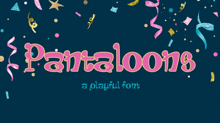 Pantaloons Display Font-1