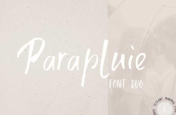 Parapluie Font Duo