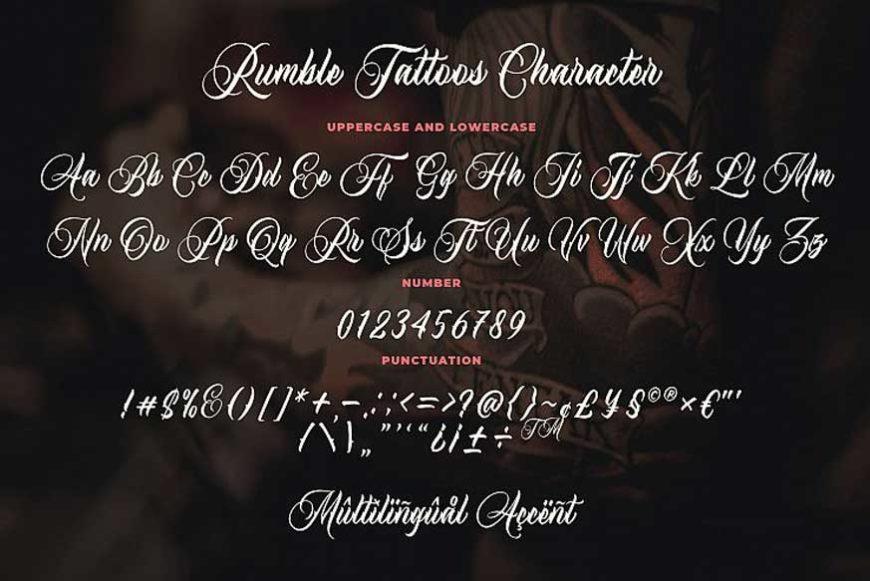 Rumble-Tattoos-Typeface-3