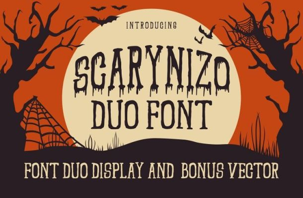 Scarynizo Font