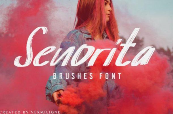 Senorita Brush Font
