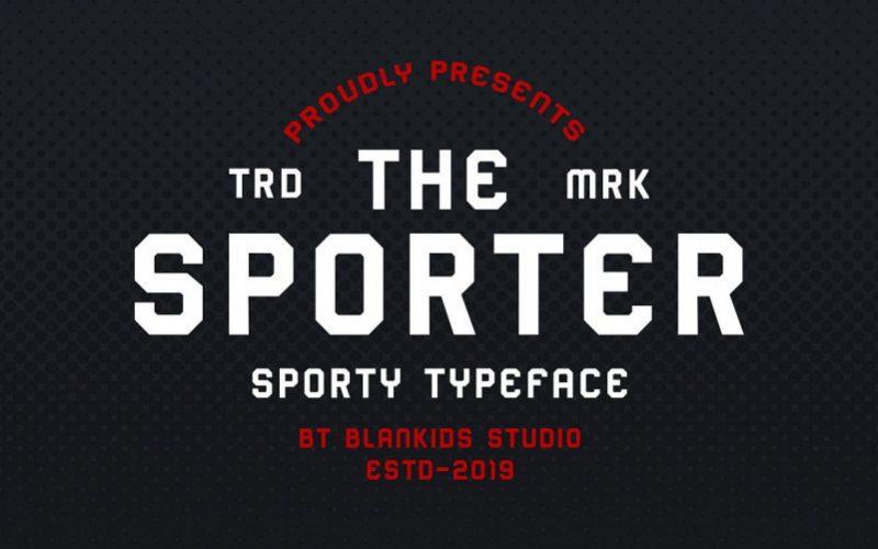 Sporter Font-1