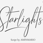 Starlights Script Font