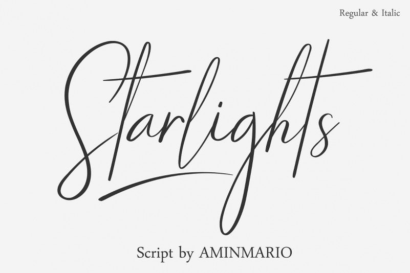 Starlights Script Font-1