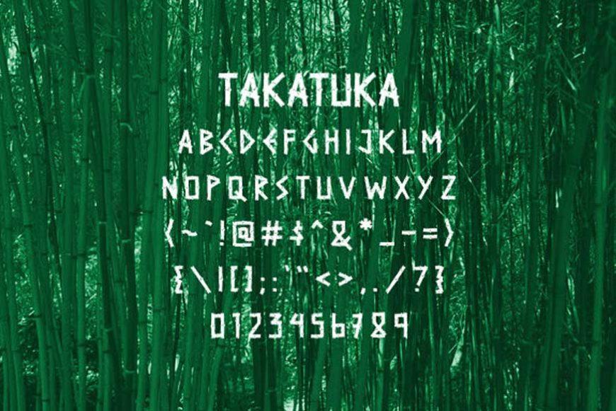 TakaTuka Font-2