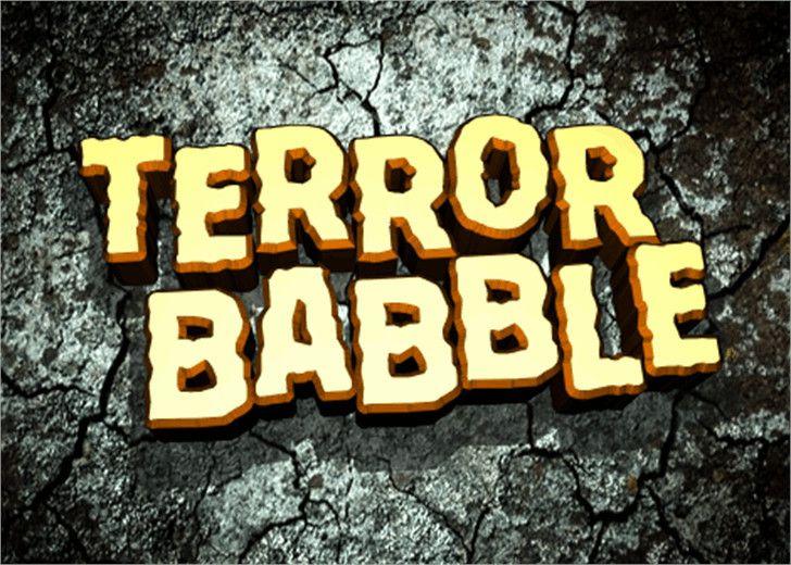 Terror Babble Font-1