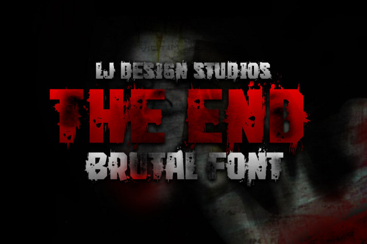 The End Font-2