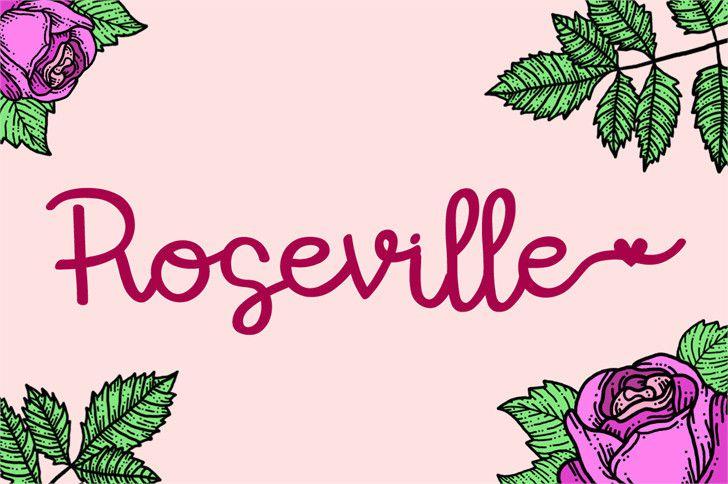 roseville-font-1