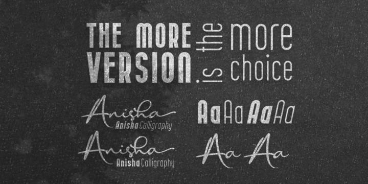 Anisha Sans Font-2