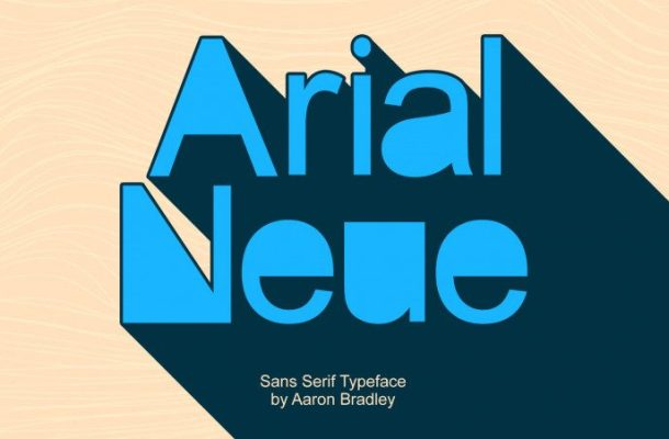 Arial Neue Font