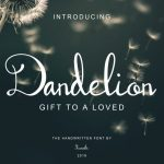 Dandelion Handwritten Font