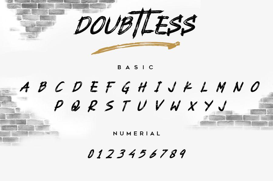 Doubtless Font-2