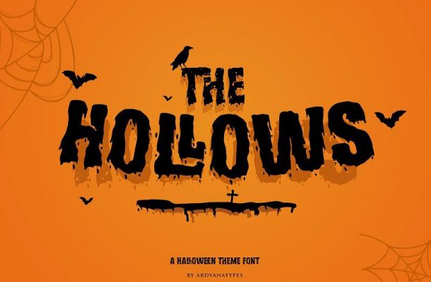 Hollows Font