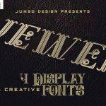 Jewel Display Font
