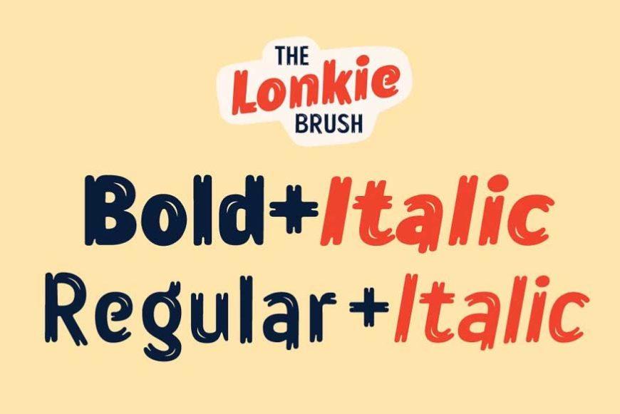 Lonkie-Brush-font-2
