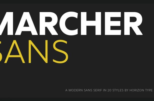 Marcher Font Family