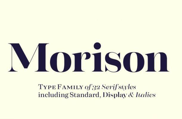 Morison Font Family