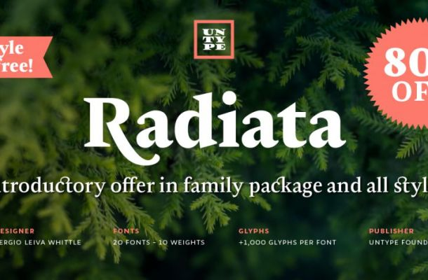 Radiata Font Family