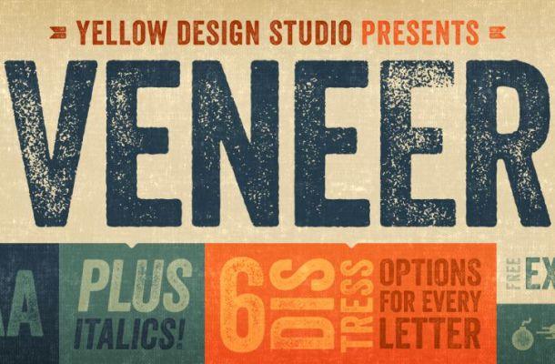 Veneer Font Family