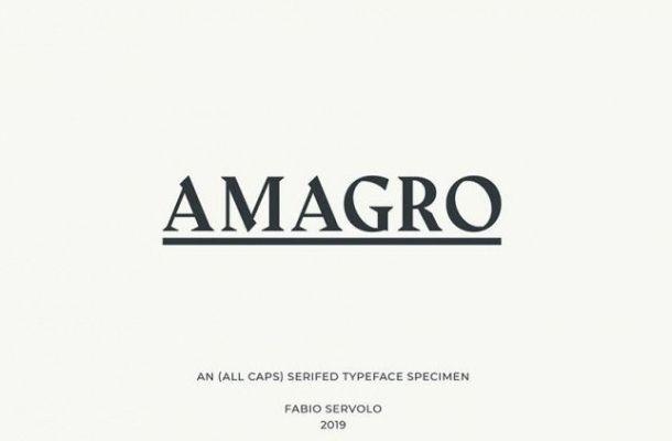 Amagro Font