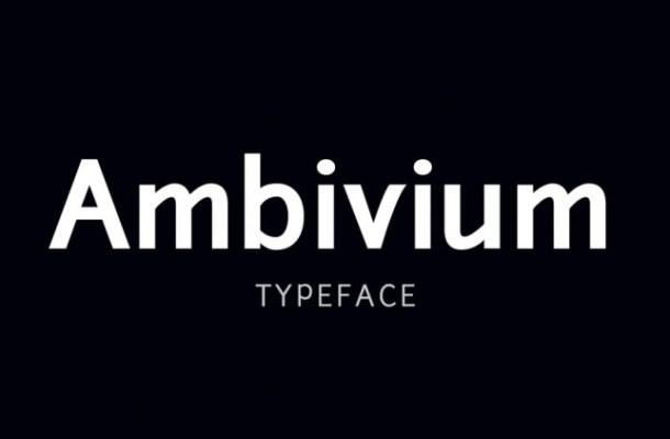 Ambivium Font
