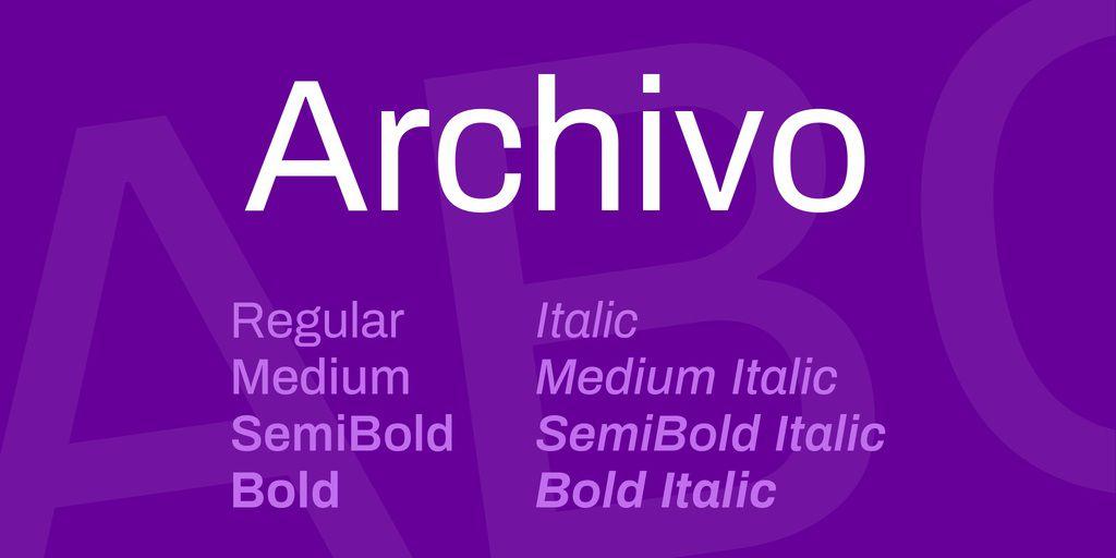 archivo-font-1