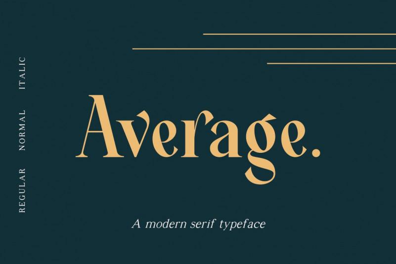 average-serif-font