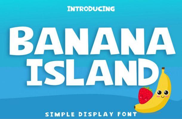 Banana Island Font