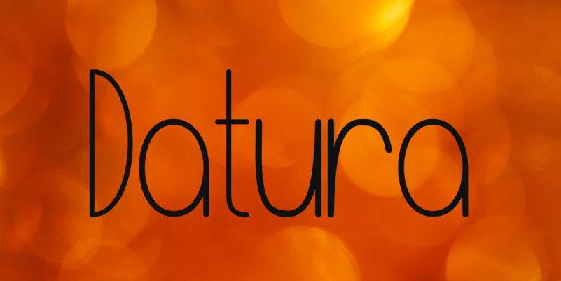 datura-font-1