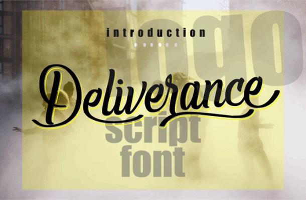 Deliverance Font