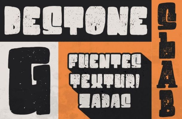 Destone Display Font