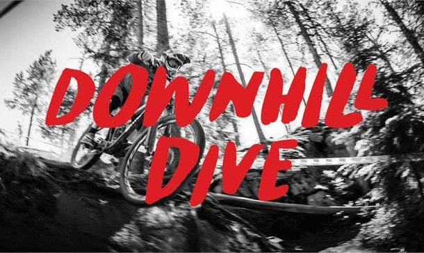Downhill Dive Font