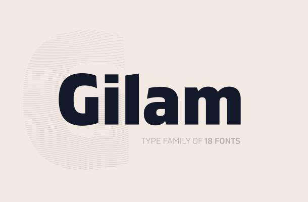 Gilam Font Free