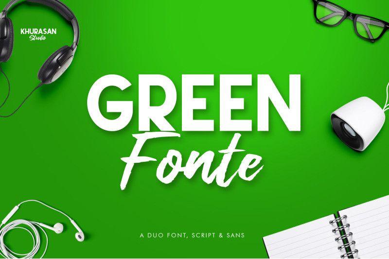 green-fonte-font-1