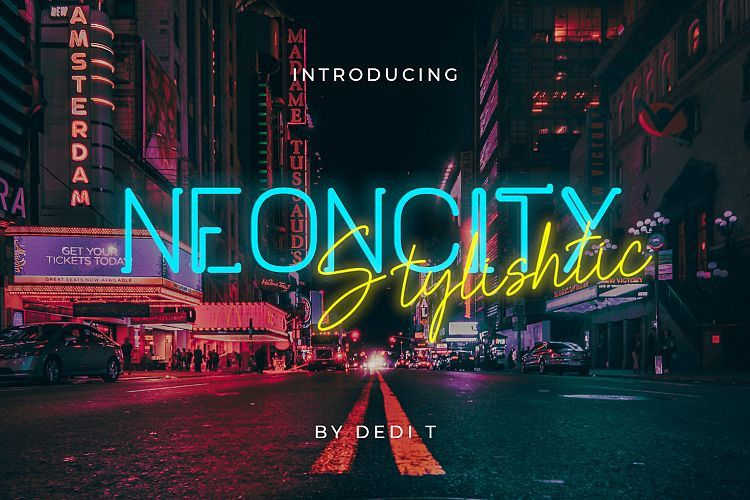 neoncity-font-duo
