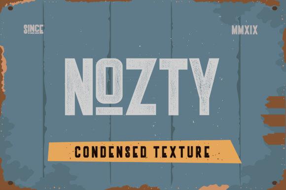 nozty-typeface