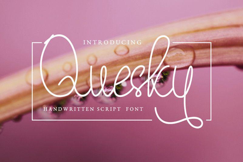 quesky-font-1
