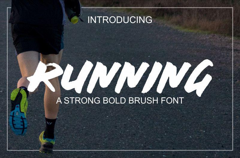running-font-1