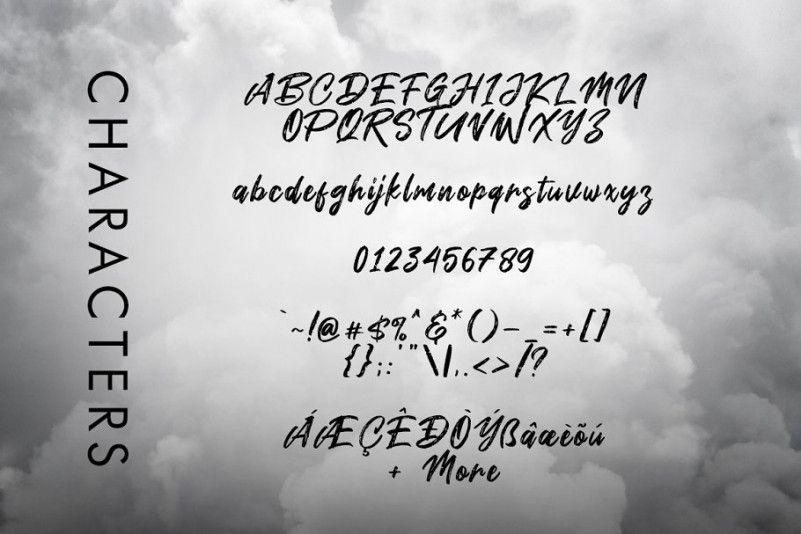 smoke-attack-brush-font-3
