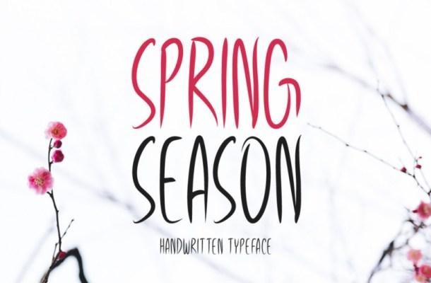 Spring Season Font