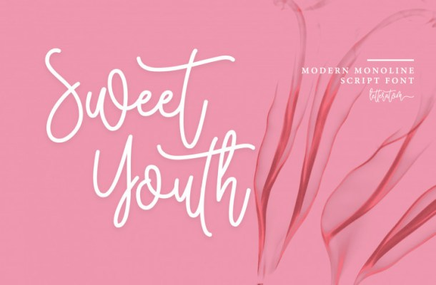 Sweet Youth Script Font