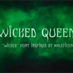 Wicked Queen Font