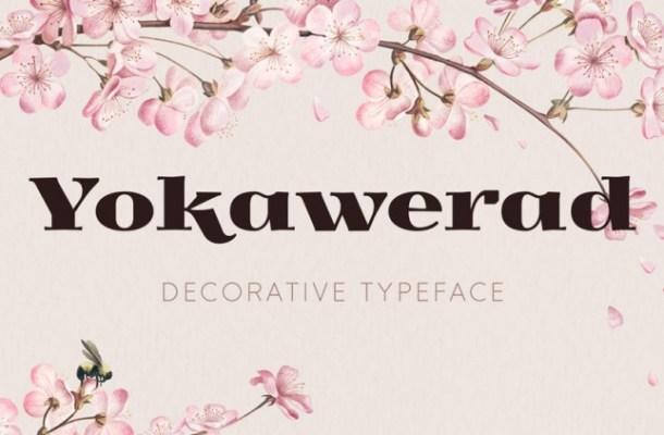 Yokawerad Free Font