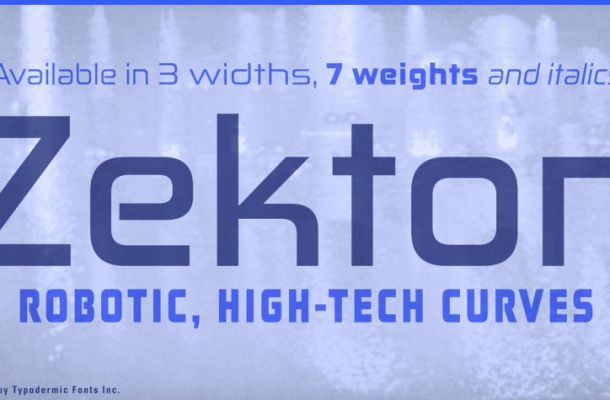 Zekton Font Family