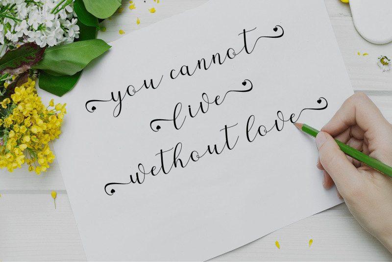 Alaycia Calligraphy Font-3