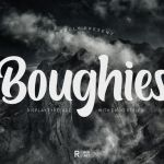 Boughies Typeface