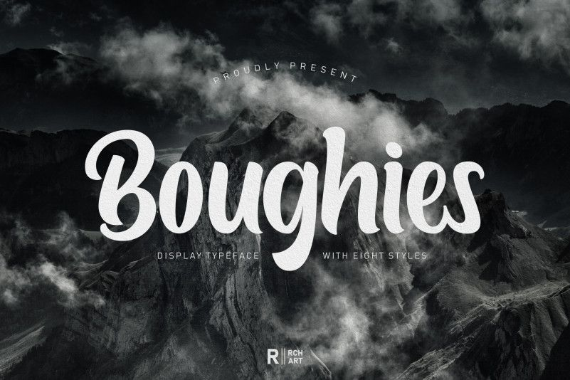 Boughies Typeface-1
