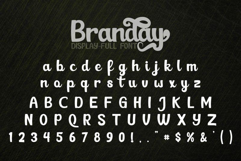 Branday Font-3